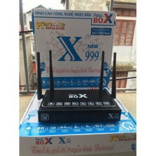 Tivi Box Androi Pana Box X999 Ram 4G - Bảo Hành 1 Năm