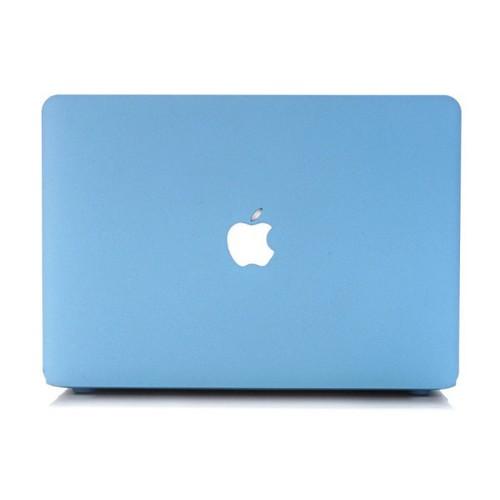 Combo Ốp Và Phủ Phím Macbook 13 Pro Ổ Đĩa - Màu Xanh Pastel