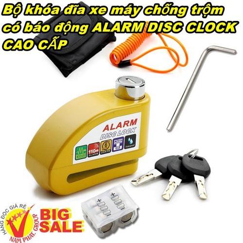Bộ khóa đĩa xe máy chống trộm có báo động ALARM DISC CLOCK CAO CẤP - 4895276 , 17564282 , 15_17564282 , 335000 , Bo-khoa-dia-xe-may-chong-trom-co-bao-dong-ALARM-DISC-CLOCK-CAO-CAP-15_17564282 , sendo.vn , Bộ khóa đĩa xe máy chống trộm có báo động ALARM DISC CLOCK CAO CẤP