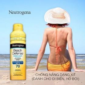 Kem chống nắng Neutrogena dạng xịt SPF 70 - NEU2