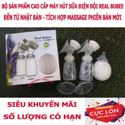 Máy hút sữa Nhật Bản - Máy Hút Sữa Điện Đôi Real bubee made in JAPPAN