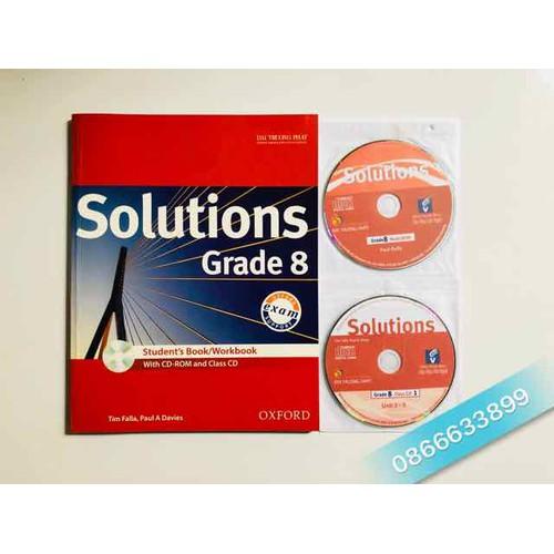 Solutions Grade 8 - Kèm CD