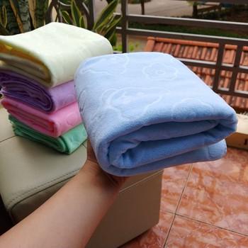 Combo 5 khăn tắm xuất Nhật mềm mịn 140 x 70 cm