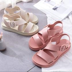 Giày sandal nữ đế bệt thời trang Hàn Quốc siêu chống nước