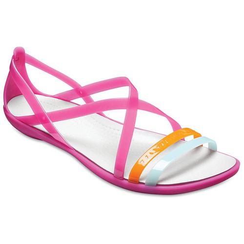 Sandal Crocs. Isabella Streppy W màu hồng