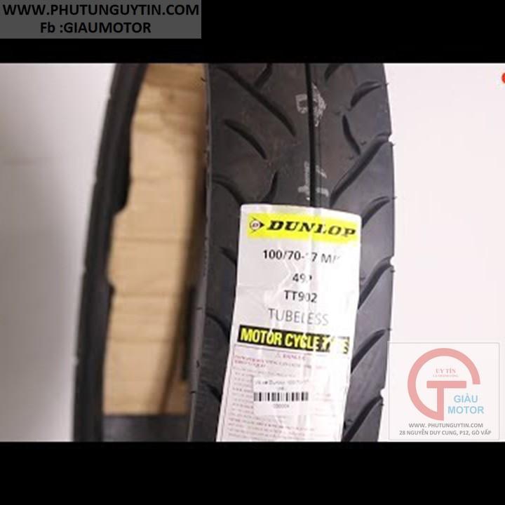 Lốp Dunlop 100.70-17 TT902 TL 49P  Vỏ xe máy Dunlop size 100.70-17 TT902 TL 49P _ Dunlop Việt Nam, giá rẻ, uy tín 4