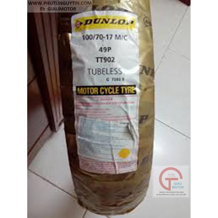 Lốp Dunlop 100.70-17 TT902 TL 49P  Vỏ xe máy Dunlop size 100.70-17 TT902 TL 49P _ Dunlop Việt Nam, giá rẻ, uy tín 5