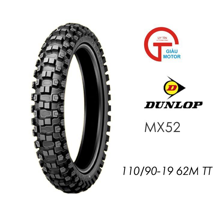 Lốp Dunlop 110.90-19 MX52 TT 62MVỏ xe máy Dunlop size 110-90-19 MX52 TT 62M _ Dunlop Việt Nam, giá rẻ, uy tín 5