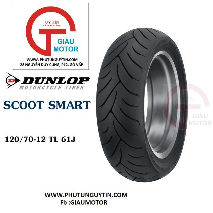 Lốp Dunlop 120.70-12 SC Mart_Vỏ xe máy Dunlop size 120-70-12 SCOOTSMART TL 61J _ Dunlop Việt Nam, giá rẻ, uy tín 1