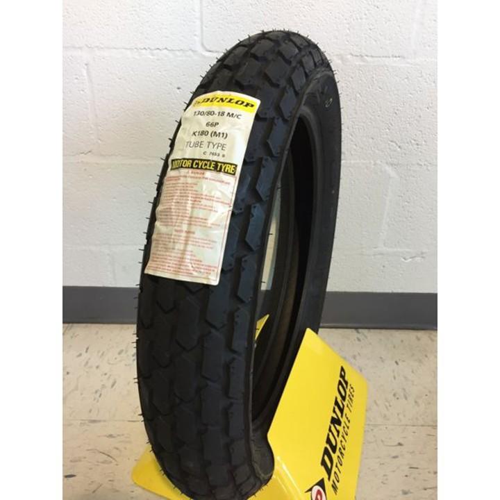 Lốp Dunlop 130.80-18 K180 TT 66P Vỏ xe máy Dunlop size 130-80-18 K180 TT 66P _ Dunlop Việt Nam, giá rẻ, uy tín 2