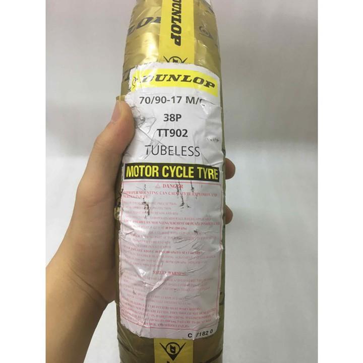 Lốp Dunlop 70.90-17 TT902 TL 38P Vỏ xe máy Dunlop size 70.90-17 TT902 TL 38P _ Dunlop Việt Nam, giá rẻ, uy tín 6