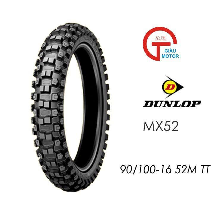 Lốp Dunlop 90.100-16 MX52 TT 52M Vỏ xe máy Dunlop size 90-100-16 MX52 TT 52M _ Dunlop Việt Nam, giá rẻ, uy tín 4