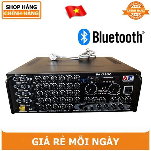 Amply Karaoke Bluetooth PA - 7900  16 Sò Lớn tăng phô 25A - BH 12 tháng