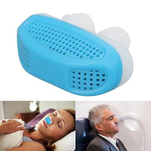 Dụng cụ chống ngáy ngủ cao cấp 2 trong 1 Anti Snore