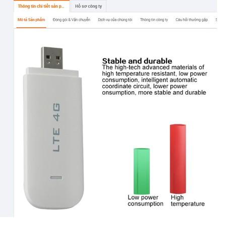 Usb Wifi 4G Dongle LTE - Phát Wifi Cực Mạnh, Chơi Game, Xem Phim