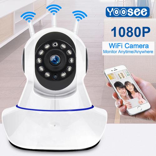 Camera IP Wifi Yoosee 3 Râu Full HD 1080P Không Dây Phiên Bản 2019 - 11563690 , 17565622 , 15_17565622 , 409000 , Camera-IP-Wifi-Yoosee-3-Rau-Full-HD-1080P-Khong-Day-Phien-Ban-2019-15_17565622 , sendo.vn , Camera IP Wifi Yoosee 3 Râu Full HD 1080P Không Dây Phiên Bản 2019