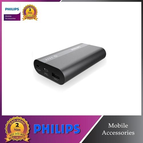 Pin sạc dự phòng Philips DLP2101QBK 10000mAh QC 3.0 tích hợp cổng USB-C
