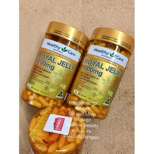 Sữa Ong Chúa Healthy Care 365 viên - 4700366 , 17571695 , 15_17571695 , 780000 , Sua-Ong-Chua-Healthy-Care-365-vien-15_17571695 , sendo.vn , Sữa Ong Chúa Healthy Care 365 viên