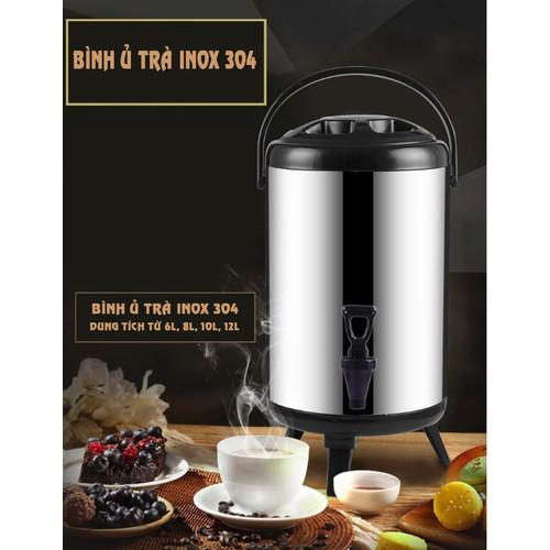 Bình ủ trà sữa inox 3 lớp 12L