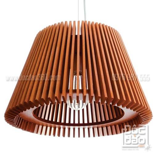 Đèn gỗ thả trần mẫu D360-TT33