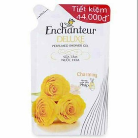 Sữa tắm Enchanteur Deluxe Charming túi 450g date 2023 - STE12