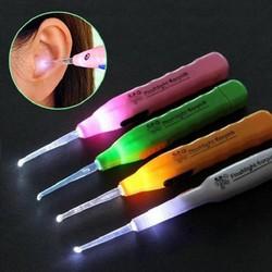 Combo 2 dụng cụ lấy ráy tai có đèn FE 3 đầu - màu ngẫu nhiên