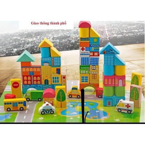 Bộ đồ chơi lắp ghép mô hình thành phố 62 chi tiết bằng gỗ - 4640504 , 17152012 , 15_17152012 , 225000 , Bo-do-choi-lap-ghep-mo-hinh-thanh-pho-62-chi-tiet-bang-go-15_17152012 , sendo.vn , Bộ đồ chơi lắp ghép mô hình thành phố 62 chi tiết bằng gỗ