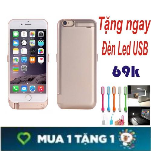 Ốp Lưng Kiêm Pin Sạc Dự Phòng Siêu Khủng Dành Cho Iphone 6,6s+ Tặng Đèn Led USB - 7351416 , 17135221 , 15_17135221 , 350000 , Op-Lung-Kiem-Pin-Sac-Du-Phong-Sieu-Khung-Danh-Cho-Iphone-66s-Tang-Den-Led-USB-15_17135221 , sendo.vn , Ốp Lưng Kiêm Pin Sạc Dự Phòng Siêu Khủng Dành Cho Iphone 6,6s+ Tặng Đèn Led USB