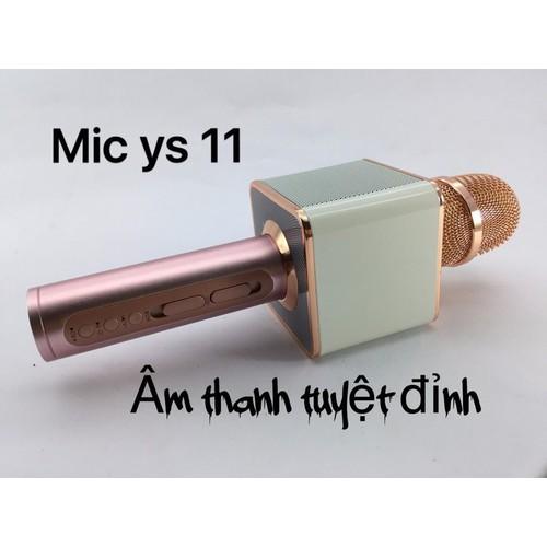 Mic karaoke không dây Bluetooth hay cấp 11, âm thanh to, hay như loa kéo