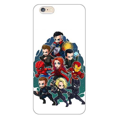 Ốp lưng điện thoại iphone 6 plus - Marvel 03