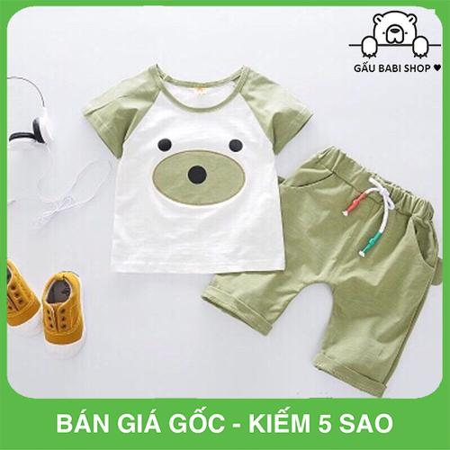 Quần áo chất cotton cho bé từ 5 đến 19kg - Mẫu 23