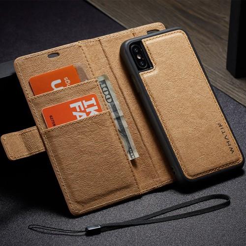 Bao da Iphone Xs Max 2 trong 1 kiêm ví tiền đựng thẻ, card rất tiện lợi - 7350149 , 17134710 , 15_17134710 , 435000 , Bao-da-Iphone-Xs-Max-2-trong-1-kiem-vi-tien-dung-the-card-rat-tien-loi-15_17134710 , sendo.vn , Bao da Iphone Xs Max 2 trong 1 kiêm ví tiền đựng thẻ, card rất tiện lợi