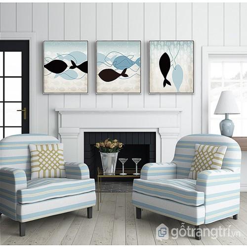Tranh treo tường hiện đại, tranh treo tường phòng khách , tranh treo tường đẹp, tranh treo tường giá rẻ, tranh treo tường canvas tranh treo tường họa tiết hình con cá + tặng kèm đinh treo 4 chân - Lov - 7376319 , 17146701 , 15_17146701 , 600000 , Tranh-treo-tuong-hien-dai-tranh-treo-tuong-phong-khach-tranh-treo-tuong-dep-tranh-treo-tuong-gia-re-tranh-treo-tuong-canvas-tranh-treo-tuong-hoa-tiet-hinh-con-ca-tang-kem-dinh-treo-4-chan-Love-house-decor-1