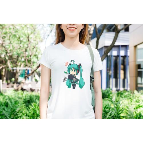 Áo thun in hình Hatsune Miku nổi nóng