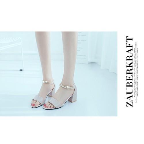 Giày cao gót hở mũi - Giày sandal cao gót - Dép guốc cao gót - Giày dép nữ