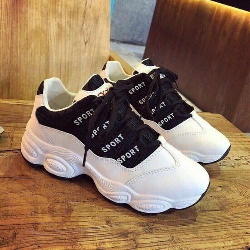giày thể thao sport đen