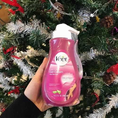 Kem Tẩy Lông Veet Gel Cream công thức cho da nhạy cảm 400ml