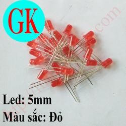 [50 cái] Led 5mm màu đỏ - đèn báo