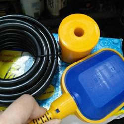 Phao điện cho máy bơm nước chống cạn chống tràn dài 2m