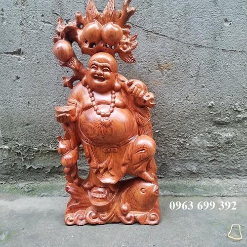 tượng phật di lặc gỗ hương cao 40 cm - 7386544 , 17151307 , 15_17151307 , 950000 , tuong-phat-di-lac-go-huong-cao-40-cm-15_17151307 , sendo.vn , tượng phật di lặc gỗ hương cao 40 cm