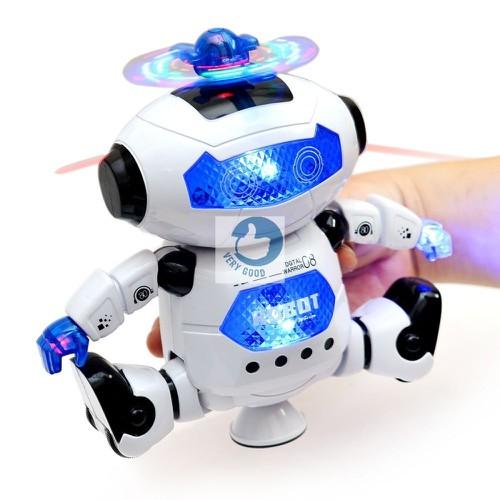 Robot thông minh xoay 360 độ cảm biến né vật cản không sợ ngã có nhạc vui nhộn cho bé chơi tại nhà - 4809670 , 17131305 , 15_17131305 , 159000 , Robot-thong-minh-xoay-360-do-cam-bien-ne-vat-can-khong-so-nga-co-nhac-vui-nhon-cho-be-choi-tai-nha-15_17131305 , sendo.vn , Robot thông minh xoay 360 độ cảm biến né vật cản không sợ ngã có nhạc vui nhộn cho