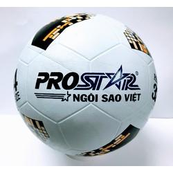 BANH ĐÚC cao su - bóng đá số 4 kèm kim bơm và lưới đựng bóng