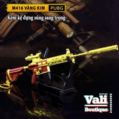 Móc khóa PUBG kèm giá đỡ - M416 Vàng Kim  - 20cm - 7360299 , 17139209 , 15_17139209 , 239000 , Moc-khoa-PUBG-kem-gia-do-M416-Vang-Kim-20cm-15_17139209 , sendo.vn , Móc khóa PUBG kèm giá đỡ - M416 Vàng Kim  - 20cm