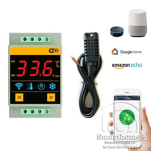 Công Tắc Cảm Biến Nhiệt Độ Độ Ẩm Wifi SmartHomePlus FH-01