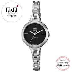 Đồng hồ nữ Q&Q Citizen S305J202Y dây sắt thương hiệu Nhật Bản