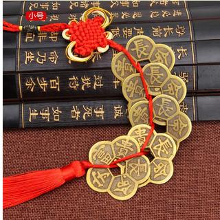 Dây 5 đồng tiền xu Mai Hoa kim tiền - D5XU thumbnail