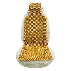 lót ghế hạt gỗ trùm mũ