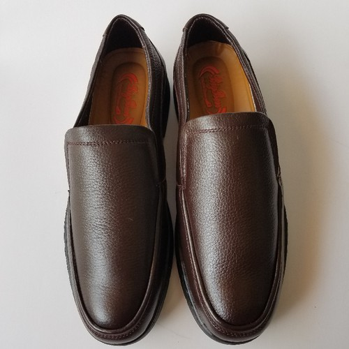 Giày Lười Nam Da Bò Thời Trang Màu Nâu -  JZ1345