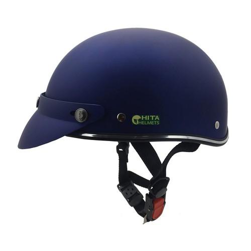Mũ bảo hiểm nửa đầu người lớn Chita xanh nhám - 7932175 , 17583707 , 15_17583707 , 169000 , Mu-bao-hiem-nua-dau-nguoi-lon-Chita-xanh-nham-15_17583707 , sendo.vn , Mũ bảo hiểm nửa đầu người lớn Chita xanh nhám