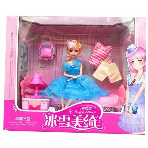 Búp bê công chúa giường ngủ - 4897130 , 17577285 , 15_17577285 , 377000 , Bup-be-cong-chua-giuong-ngu-15_17577285 , sendo.vn , Búp bê công chúa giường ngủ